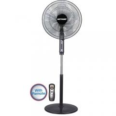 """Von Hotpoint Free Standing Fan (HFS662B) 16"""" Grill 60 Watts - Black"""
