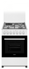 SIMFER 3 Gas + 1 Electric Cooker (5312NEW) - White