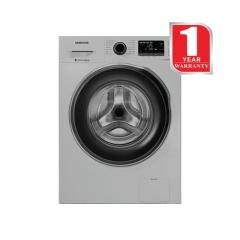 Samsung Front Load washing Machine (WW80J5260GS/NQ)- Silver, 8 Kg Capacity