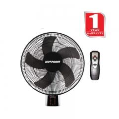 "Von Hotpoint Wall Fan 16"" Grill 60 Watts (HFW661B) - Black"