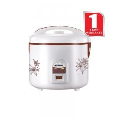 Von Hotpoint Rice Cooker (HR1821DMP) Capacity: 1.8 Litres 900 Watts - White
