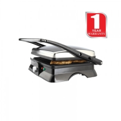 Von Hotpoint Press/Contact Grill (HG20HS) 2000 Watts - Stainless Steel