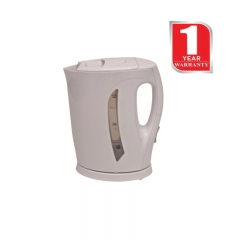 Von Hotpoint Cordless Electric Kettle (HK117DW) 2200 Watts - White