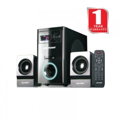 Von Hotpoint 2.1 Channel Subwoofer with SD /MMC Card Slot and USB Port (HA6530M)- Black