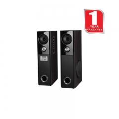 Hotpoint HA16020S 2.0 Active Speakers - Tallboy Subwoofer - 160W BLACK