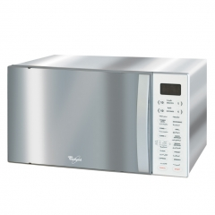 Whirlpool Microwave MWO 638 IX - Microwave & Grill - Silver 38L .