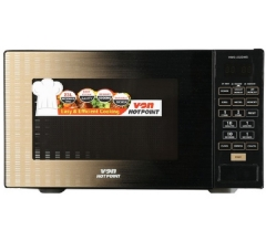 Von Hotpoint HMG-232DMS Grill Microwave - Gold 23  Litres .6 Power levels