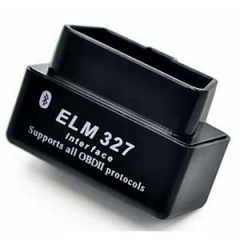 Black Mini ELM327 Bluetooth ELM 327 OBDII Car Diagnostic Tool OBD2 Code Reader Scanner For Android