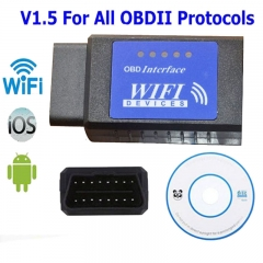 Wifi ELM327 Wifi V1.5 OBD 2 II Car Diagnostic Tool OBD2 Scanner Interface Support Android & IOS