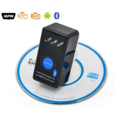 100% V2.1 MINI ELM327 Bluetooth Power Switch ELM 327 OBD2 Diagnostic Scanner Supports Android