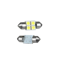 2X 5050 4smd 31 White Festoon Dome Car Light Lamp Bulb/Reading Light