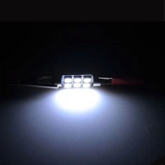 10X 5050 6smd 39 White Festoon Dome Car Light Lamp Bulb/Reading light
