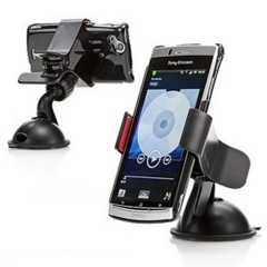 Portable Versatile Car Holder Bracket Suction Cup Kit Holder for Tenco/Huawei/Itel/Gionee/Nokia