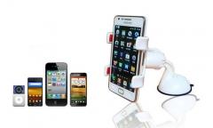 360 Degree Rotation Car Windshield Mount Holder Bracket Car Phone Holder for Samsung/Iphone