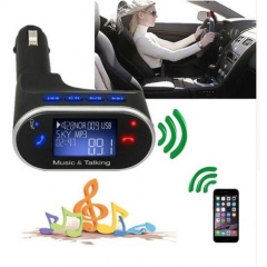 Car MP3 Player Bluetooth Handsfree kit Car AUX MP3 Player Stereo Music Support TF Card USB