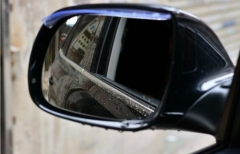 Universal Flexible Car Back Mirror Eyebrow Rain Cover Rainproof Blade Car Rearview Mirror Rain Shade