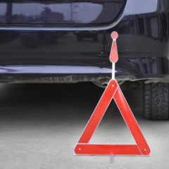 Folding Auto Car Warning Triangles Car Reflective Emergency Tripod Parking Warning Supplier