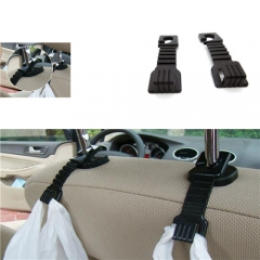 Universal Car Fastener Clip Hook Black Car Seat Pothook Car Wear Hook  Load Bearing