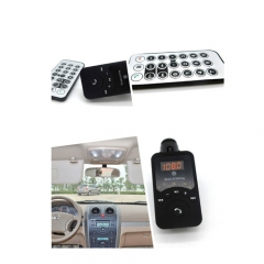 Universal Bluetooth Hands-free Car Kit FM Transmitter for Music & Talking Support USB TF Card