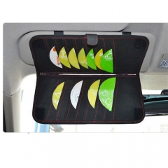 Portable Organizer Fashion Car Sun Visor Type Hanging Car Tissue Boxes CD Napkin Holder Storage Case