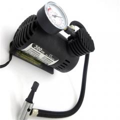 Car Mini Pumps 12V 300PSI Electric Air Compressor Tire Inflator Auto Inflatable Pump with Barometer