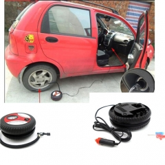 Portable Car Air Compressor Auto Inflatable Pumps Electric Tyre Inflaters