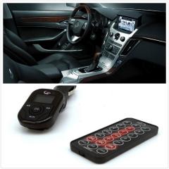 Car MP3 FM Modulator FM Transmitter With USB/TF Card Reader Wireless Auto Kit