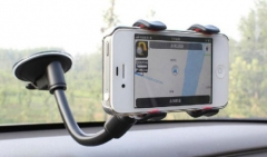 Universal 360 Degree Rotating Car Windshield Mount Holder Stand Bracket for Cell Phone
