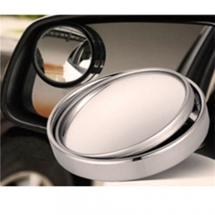 Car Styling Auto Motorcycle Blind Spot Rear View Mirror 360 Degree Adjustable Car Mirror Black