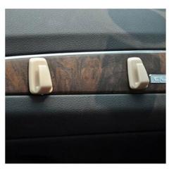 Mini PVC Auto Car Convenient Hook Decals Car Hanger Sticker for Garbage Bag Key Interior Accessories
