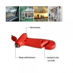 Car 2 in 1 Safety Hammer Belt Cutter Emergency Escape Hammer Life-saving Tool
