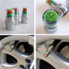 Car Tire Pressure Gauge Air Pressure Gauge Tire Pressure Monitoring Warning Valve Cap