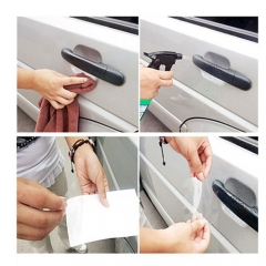 Car Senior Bilateral Handle Protection Film Car Sticker Invisible Car Door Handle Prevent Scratches