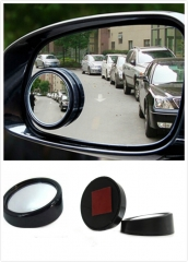 360 Degree Car Mirror Wide Angle Round Convex Blind Spot mirror for Parking Backup Mirror Rain Shade
