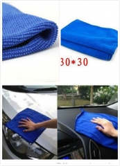 Car Cleaning Towel Soft Water Absorbent Fiber Car Bicycle Wipe Wash Cloth for Home Kitchen 30*30