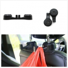 Car Adjustable Muti-Purpose Angle Hook Interior Seat Headrest Clothes Hanging Holder