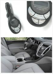 Auto Kit Cigarette FM Transmitter Modulator With USB Port & SD Card Slot Wireless Car MP3 Player