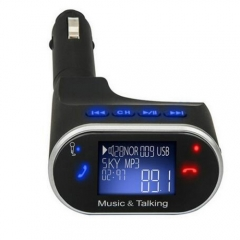 Car AUX MP3 Player Stereo Music Support TF Card USB Car MP3 Player Bluetooth Handsfree Kit