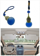 High-end Car Styling Ornament Car Mirror Pendant Hanging Ornament with Sweet Fragrance Purifying Air