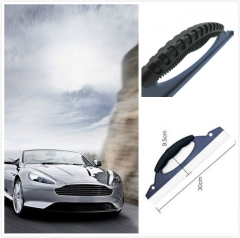 Auto Window Cleaning Windshield Wiper Scraper Car Wiper Plate a Silica Gel Water Scraping Plate