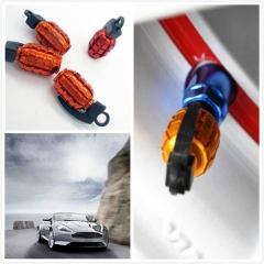 Car Tire Valve Stem Cap Dust Cover for Car Truck Bike