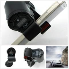 360 Adjustable Rotation Car Phone Holder with FM Transmitter for GPS Navigation/Video Playing