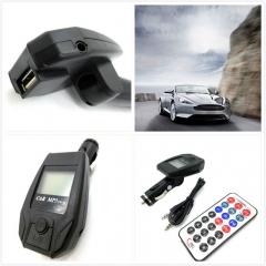Extend Car MP3 Audio Player Wireless FM Modulator