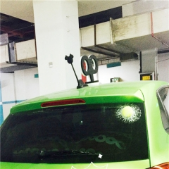 Funny 3D Car Sticker Golf/Green Tennis/ Baseball Hit Window