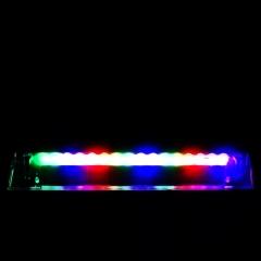 16 LED Car Vehicle Windshield Glass Solar Suction Decoration /Warning Lamp Easy Install