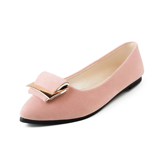 754fb32d096 New Fashion woman s comfortable flats suede leather casual shoes ...