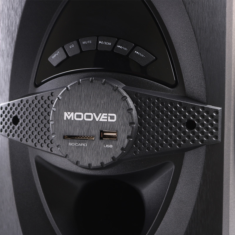 MOOVED MV-N3 - 3.1 Multimedia Speaker System