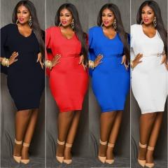 2017 New Style Women Plus Size Bareback Kenya Africa Dress Bodycon Sexy Kenyan African Lady Dresses white l