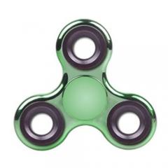 Hand fidget spinner plating gyro Tip of the finger gyro Luminous fingers gyro de green one size