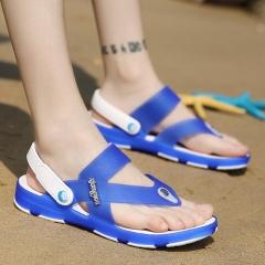 Men Summer Leisure open-toed Sandals Casual Beach Sports Non-slip Slipper Shoes^ blue 40 41  42 43 44